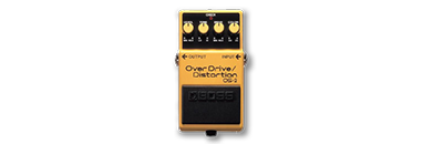 BOSS OverDrive/Distortion