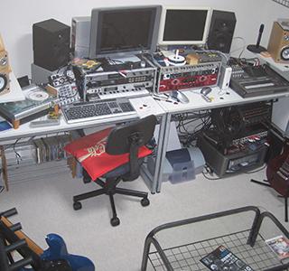 2006年自宅スタジオ
