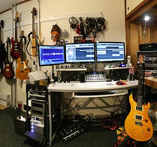 2013年自宅スタジオ