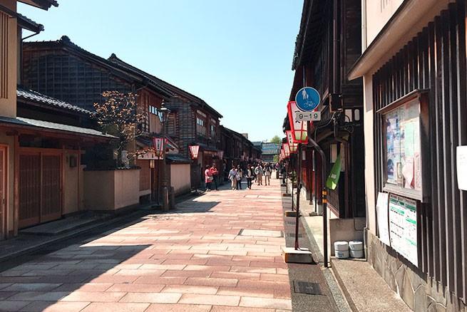 石川県東茶屋街