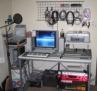 自宅スタジオ2004