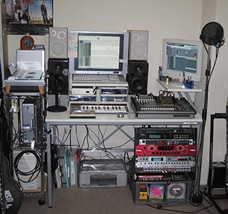 2005年自宅スタジオ
