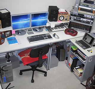 2007年自宅スタジオ