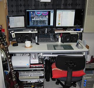 2009年自宅スタジオ